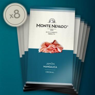 8 estuches Jamón Mangalica (Pack 8x85 gr.)
