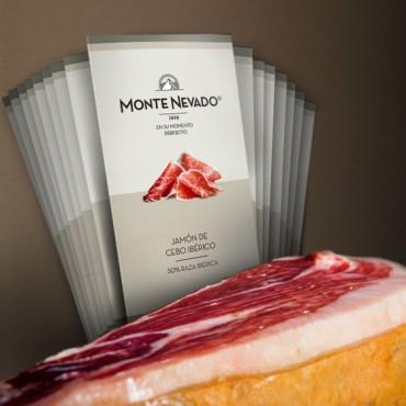 Pack Sibarita Jamón de Cebo Ibérico 50% Raza Ibérica - Monte Nevado