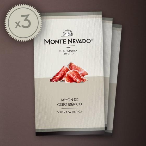 Estuche jamón de cebo ibérico 50% Raza Ibérica - Monte Nevado