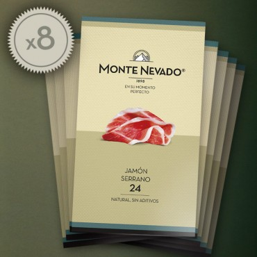 Estuche Jamón Serrano 24 - Monte Nevado