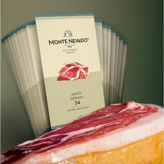 Pack Sibarita Jamón Serrano 24 - Monte Nevado