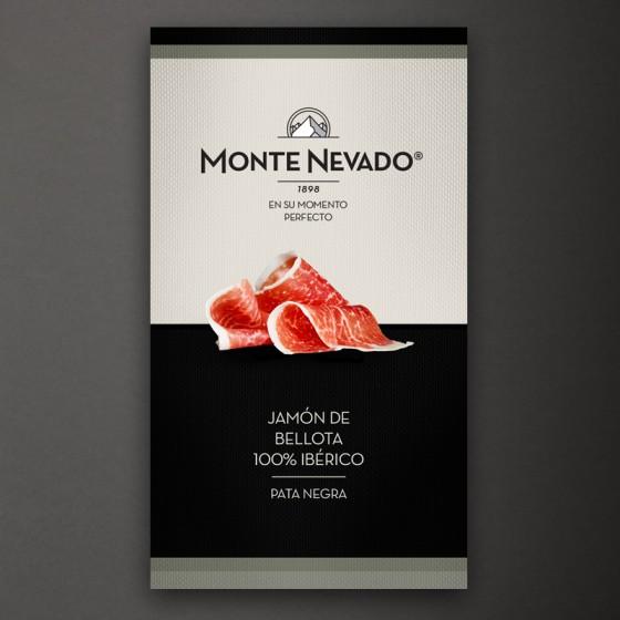 Estuche Jamón de Bellota 100% ibérico - Monte Nevado