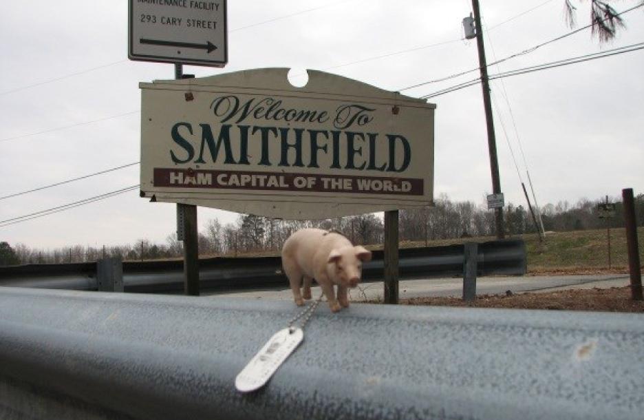 Smithfield, ham capital of the world