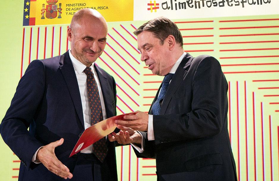 Entrega Premio Alimentos de España al Mejor Jamón de Bellota 2018