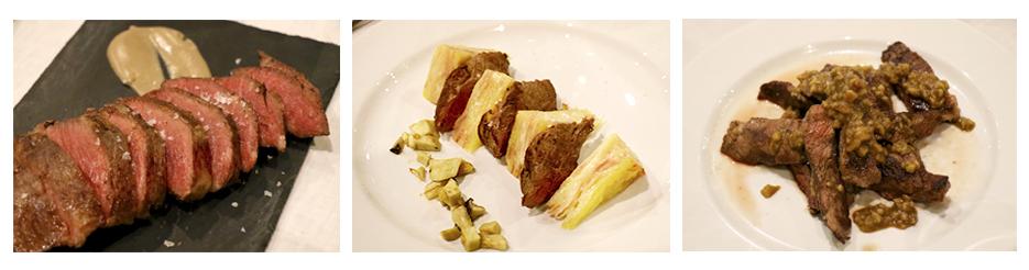 Platos de carne de cerdo ibérica diseñados por Jhon Mcelyea