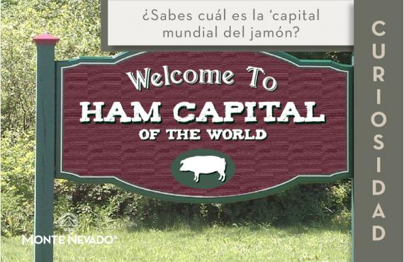 ¿Sabes cuál es la capital mundial del jamón?